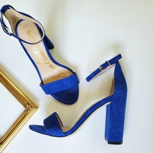 Sam Edelman • Yaro Leather Heeled Sandals